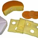 játék étel- sajtos csomag, Játék, Készségfejlesztő játék, Varrás, Amikor játék az étel...  A kislányok egyik legkedvesebb játéka a főzős játék.Az általam gyártott és..., Meska