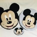 Mickey egeres párnaszett, Játék & Gyerek, Készségfejlesztő & Logikai játék, Varrás, A párnaszett tartalma: 1db (tömött) díszpárna -mérete: d= 37cm 1db ülőpárna (tömés nélkül)-átmérője..., Meska