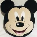 Mickey párna, Játék & Gyerek, Plüssállat & Játékfigura, Más figura, Varrás, Mérete: 37cm x 37cm Anyaga: polár,szivacs töltettel  Mosógépben 40?C-on mosható! , Meska