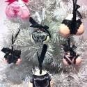 karácsonyfadísz bugyik :), Dekoráció, Férfiaknak, Karácsonyi, adventi apróságok, Karácsonyfadísz,  ..amikor azt hittem, hogy a rendelkezésemre álló színekből és formákból már nem tudok úja..., Meska