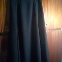 Fekete loknis hosszú szoknya, Megbeszéltek alapján készült szoknya