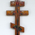 Kereszt Kongi  ( Ildikó ) megrendelésére, Ezt az  ortodox keresztet megrendelésre készíte...