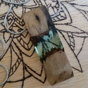 Átlátszó fa-műgyanta nyaklánc, Ékszer, Képzőművészet, Nyaklánc, Medál, Saját készítésű medál, fa és műgyanta házasságából. Törekszem a természet szépségének visszaadására,..., Meska