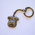 Todikutyának - fotóról készült bronz kulcstartó, Ékszer, Medál, Fotó alapján készült bronz kulcstartó, hátuljában névvel vésve  , Meska