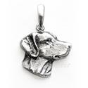Vizsla medál!! Rendelhető!, Ékszer, Medál, 925-ös magyar fémjeles ezüst VIZSLA kutya medál.  méretei: hossza: 20 mm          szélessége: 21 mm ..., Meska