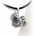 Puli gazdiknak álló puli medál Rendelhető!, Ékszer, Medál, 925-ös magyar fémjeles ezüst PULI kutya medál.  méretei: hossza: 19 mm          szélessége: 20 mm   ..., Meska