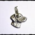 Pipernek vizsla medál bronzból, Ékszer, Medál, Vizsla medál bronzból , Meska