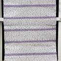 Lila cirmos szőnyeg., Otthon, lakberendezés, Lakástextil, Szőnyeg, Szövés, Ez egy fehér-lila cirmos szőnyeg, keskeny lila csíkokkal díszítve.  Kézi szövéssel készült. Falon i..., Meska