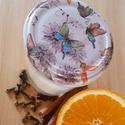 Kézzel készült szójaviasz gyertya különböző illatokban - 100 ml, Otthon & Lakás, Dekoráció, Gyertya & Gyertyatartó, Gyertya-, mécseskészítés, Kézzel készült illatgyertya, amely illatával és fényével hangulatossá varázsolja környezeted.  A sz..., Meska