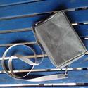 ETHEL kistáska szürke, Táska, Válltáska, oldaltáska, Közép szürke színben készült kistáska a praktikumot szeretőinek készült. Kulcs, telefon, i..., Meska