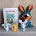 Húsvéti mesecsomag plüssfigurával - mese- és foglalkoztatófüzet, ujjbábok, letölthető játékok, húsvéti plüssfigura, Baba-mama-gyerek, Játék, Báb, Plüssállat, rongyjáték, Készüljünk együtt a húsvétra! Unod már a sok csokinyuszi dömpinget és szeretnél egy igazán hasznos a..., Meska