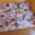 patchwork takaró, Dekoráció, Otthon, lakberendezés, Lakástextil, Takaró, ágytakaró, Ez a takaró  már elkelt , de ha tetszik ,szívesen elkészítjük  a számodra megfelelőt. A taka..., Meska