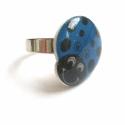 Kék katka - gyűrű, Nagyméretű, dundi katica gazdit keres. :)  Zsu...