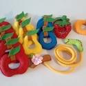Gyümölcsös fűzögető, Baba-mama-gyerek, Játék, Készségfejlesztő játék, Logikai játék, Varrás, Gyümölcsös fűzögetőLátványos, kedves, aranyos, színes fejlesztőjáték a gyermekek számára. Praktikus..., Meska