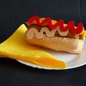 Hot-Dog készítő szett, HOT-DOG KÉSZÍTŐ SZETT Anyaga:  Strapabíró bar...