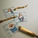 Karácsonyi ajándékkísérő kártya szett - pingvines - Boldog Karácsonyt felirattal, Dekoráció, Ünnepi dekoráció, Karácsonyi, adventi apróságok, Ajándékkísérő, képeslap, Fotó, grafika, rajz, illusztráció, Papírművészet, Karácsonyi ajándékkártya, pingvines szett. 1 csomagban 3db kártya található.  Három különböző pingv..., Meska