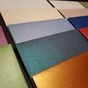 Kreatív, selyem fényű, metál boríték - C/6 méret, 114 mm x 162 mm, Otthon & Lakás, Boríték, Papír írószer, Papírművészet, Kreatív, selyem fényű, metál boríték - C/6 méret, 114 mm x 162 mm  Többféle színben Metálos felület..., Meska