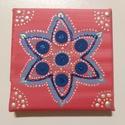 Mandala, Otthon & Lakás, Dekoráció, Mandala, Festészet, A mandala egy meditációs segédeszköz. Minden egyes mandala különféle színeket, de inkább fényeket s..., Meska