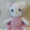 Kitty cica horgolt amigurumi, A kislányok által oly kedvelt cica őrületből ...