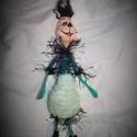 GRINCS (kicsi) - Egyedi baba, Dekoráció, Karácsonyi, adventi apróságok, Karácsonyi dekoráció, Te is szereted a Grincset? Esetleg még grincsfád is lesz? Jól mutatna alatta egy igazi Grincs! :D  D..., Meska