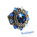 Frozen Swarovski gyűrű, Igazán kellemes látványt nyújt ez a gyűrű, e...