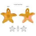 Swarovski tengeri csillag- Crystal astral pink (beaDapple) - Meska.hu