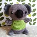 Brúnó a koala zöldben, Brúnó egy kedves megrendelőm kérésére átöl...