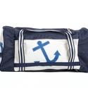 Bell'bag 001, Férfiaknak, Táska, Férfi táska, Válltáska, oldaltáska, Varrás, Vitorlából és cordurából készült utazó táska mérete:60/40cm Kívül és belül is pakolós,akár egy hétr..., Meska