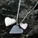 Sokszíves nyaklánc, Ékszer, Nyaklánc, Szívecskemániásoknak vagy szeretethiányosoknak vagy szerelmeseknek.....ha hosszan szereted, de néha ..., Meska