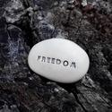 Üzenetkavics - Freedom, Dekoráció, Otthon, lakberendezés, Legyél egyedi minden pillanatban!  Válassz a meglévő feliratokból vagy találd ki saját üzenetedet  é..., Meska