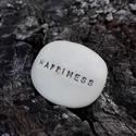 Üzenetkavics - Happiness, Dekoráció, Otthon, lakberendezés, Legyél egyedi minden pillanatban!  Válassz a meglévő feliratokból vagy találd ki saját üzenetedet  é..., Meska