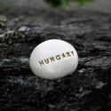 HUNGARY - Kerámia Üzenetkavics , Dekoráció, Otthon, lakberendezés, Legyél egyedi minden pillanatban!  Válassz a meglévő feliratokból vagy találd ki saját üzenetedet  é..., Meska