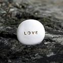 Üzenetkavics - Love, Dekoráció, Otthon, lakberendezés, Legyél egyedi minden pillanatban!  Válassz a meglévő feliratokból vagy találd ki saját üzenetedet  é..., Meska