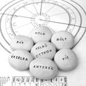 Horoszkópos kerámiakavics  - RÁK, Dekoráció, Otthon, lakberendezés, A RÁK szülötte vagy?  Tudtad, hogy ezekkel van dolgod?  Egyedi kerámia kavics dekoráció  asztrológia..., Meska