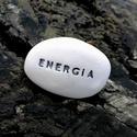 ENERGIA - Kerámia Üzenetkavics, Dekoráció, Otthon, lakberendezés, Legyél egyedi minden pillanatban!  Válassz a meglévő feliratokból vagy találd ki saját üzenetedet  é..., Meska