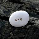 APU - Kerámia Üzenetkavics, Dekoráció, Otthon, lakberendezés, Legyél egyedi minden pillanatban!  Válassz a meglévő feliratokból vagy találd ki saját üzenetedet  é..., Meska