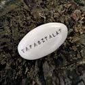 TAPASZTALAT - Kerámia Üzenetkavics, Dekoráció, Otthon, lakberendezés, Ékszerkészítés, Kerámia, Legyél egyedi minden pillanatban!  Válassz a meglévő feliratokból vagy találd ki saját üzenetedet  ..., Meska
