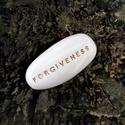 FORGIVENESS - Kerámia Üzenetkavics, Ékszer, Otthon, lakberendezés, Legyél egyedi minden pillanatban!  Válassz a meglévő feliratokból vagy találd ki saját üzenetedet és..., Meska