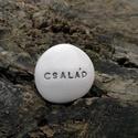 CSALÁD - Kerámia Üzenetkavics, Dekoráció, Otthon, lakberendezés, Legyél egyedi minden pillanatban!  Válassz a meglévő feliratokból vagy találd ki saját üzenetedet és..., Meska