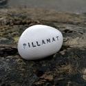 PILLANAT - Kerámia Üzenetkavics , Dekoráció, Otthon, lakberendezés, Legyél egyedi minden pillanatban!  Válassz a meglévő feliratokból vagy találd ki saját üzenetedet  é..., Meska