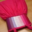 Pink táska , Női buggyos, ráncolt, fiatalos fazonú táska. ...