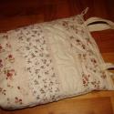 Romantikus csipkés táska , A romantika jegyében készült el ez a csipkékke...