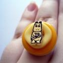 -30% AKCIÓ Mumminos cukorka gyűrű, Íme első zsugorkás próbálkozásom eredménye....