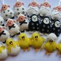 """Húsvéti bárányok és csibék """"farkasandrea2"""" részére, Filcből készültek a bárányok és csibék,mind..."""