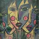 'Arc' , Képzőművészet, Otthon, lakberendezés, Festmény, Falikép, Saját festményről készült szignózott, számozott nyomat, print , limitált számú reprodukció  (30)  Ny..., Meska