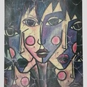 'Arc' , Képzőművészet, Festmény, Illusztráció, Festészet, Saját festményről készült szignózott, számozott nyomat, print , limitált számú reprodukció  (30)  N..., Meska