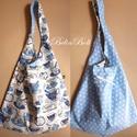 Kifordithatós táska, Táska, Válltáska, oldaltáska, Kifordíthatós táska. 67 cm magas, 42 cm széles. Nincs záródása a táskának, laza lezser bevásárláshoz..., Meska