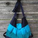 Többfunkciós táska pelenkázós táska,  Pihepuha Kordbársony többfunkciós táska. 32x3...