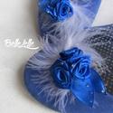 Bohém tollas cipőklipsz, Esküvő, Ruha, divat, cipő, Cipő, cipőklipsz, Cipő, papucs, Varrás, Van egy egyszerű, de igazán kényelmes cipőd, de nem tudod, hogyan tedd különlegessé? Erre való a ci..., Meska
