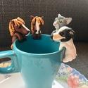 4 db teafiltertartó, pumuckl1018 részére készítettem őket  Köszö...